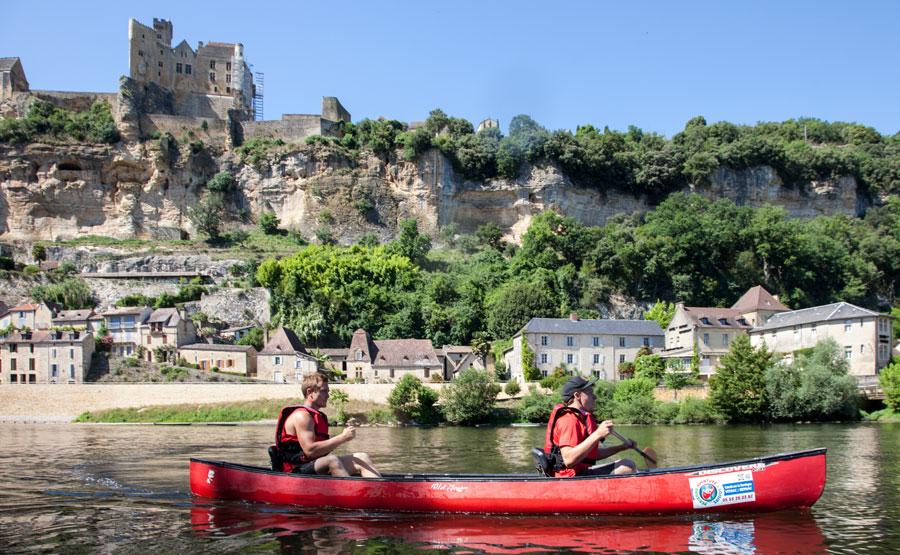 Descente en canoe sur la Dordogne