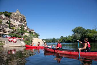 Périgord Aventure et Loisirs loueur de canoës sur la rivière Dordogne